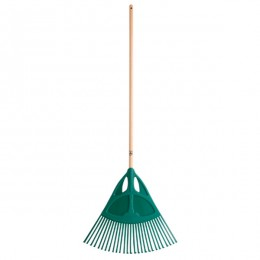 Lawn brooms and lawn and leaf rakes